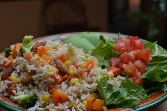 Foto: arroz relleno