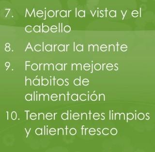 Imagen: razones 7-10 para comer crudo
