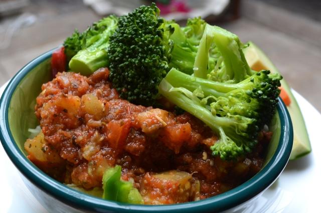 Foto:  Espagueti con Brócoli