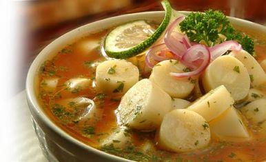 Foto:  Ceviche Vegetariano