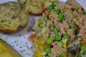 Foto:  Ensalada de Quinoa y Papa Horneada